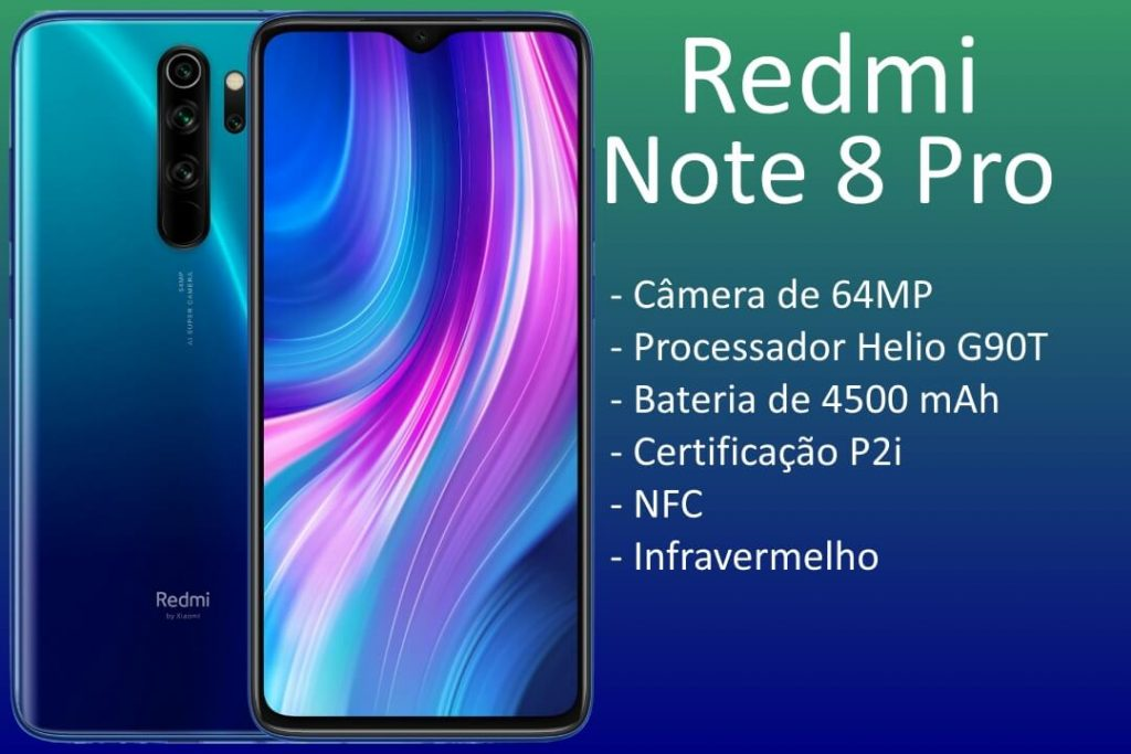 Especificações do Redmi Note 8 Pro
