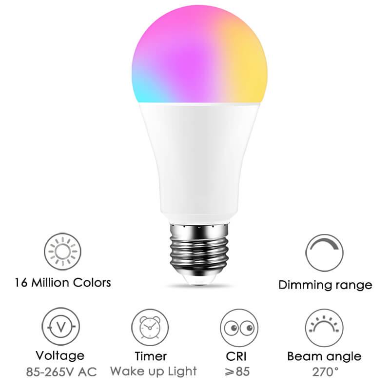 Lampada inteligente RGB